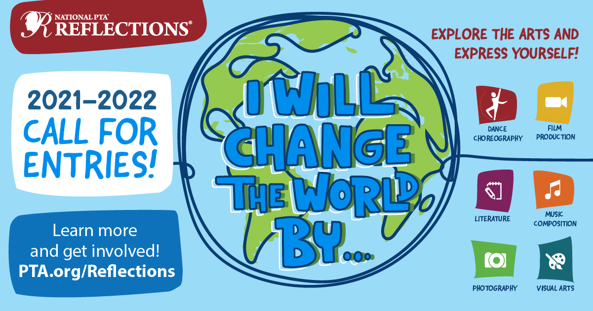 Reflections - I Will Change the World banner