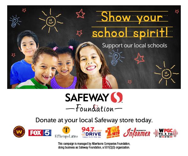Safeway Foundation - Raise funds for LAES PTA